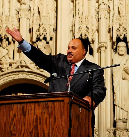 Photo of Martin Luther King III: Civil right activist