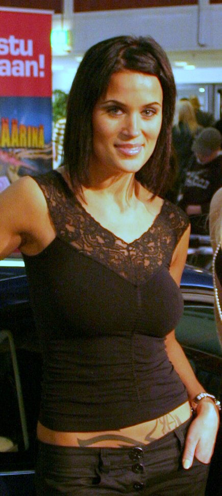 Photo of Martina Aitolehti: Finnish model, singer, celebrity