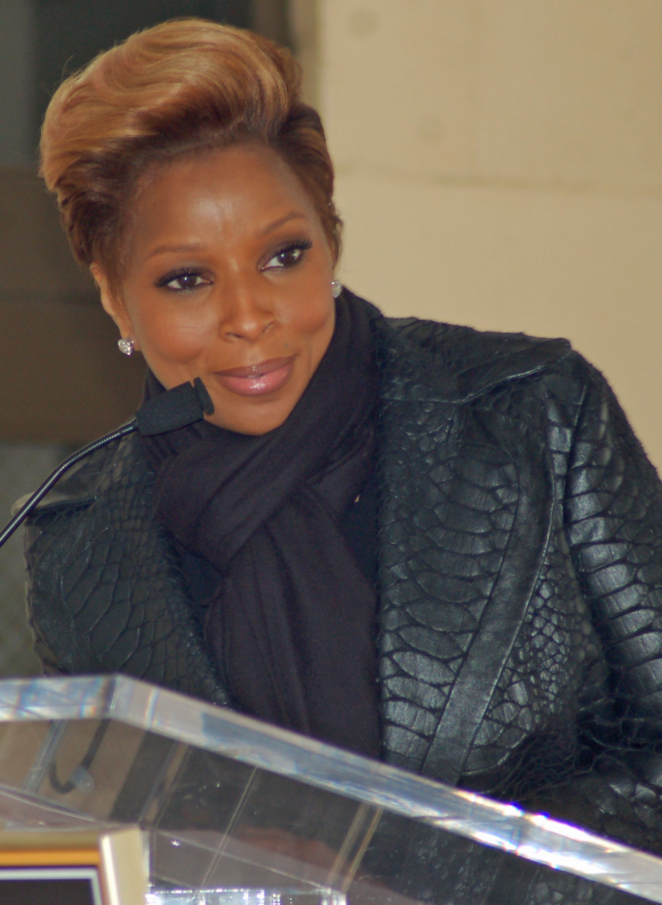 Photo of Mary J. Blige: Singer-songwriter, rapper, record producer, actress