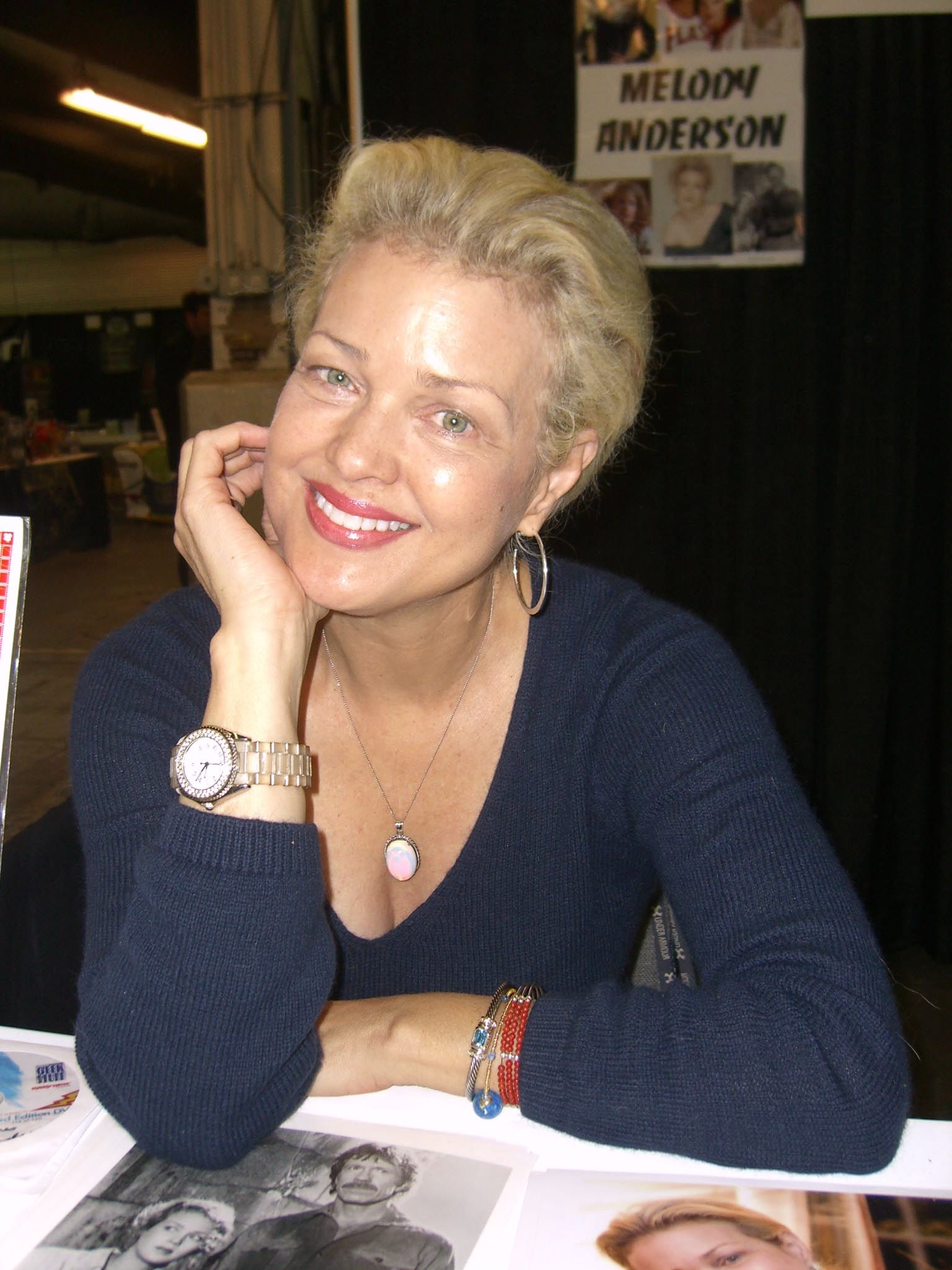 Photo of Melody Anderson: Actress from the United States, born in Canada