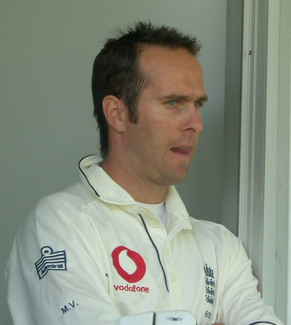 Photo of Michael Vaughan: Cricket player of England.