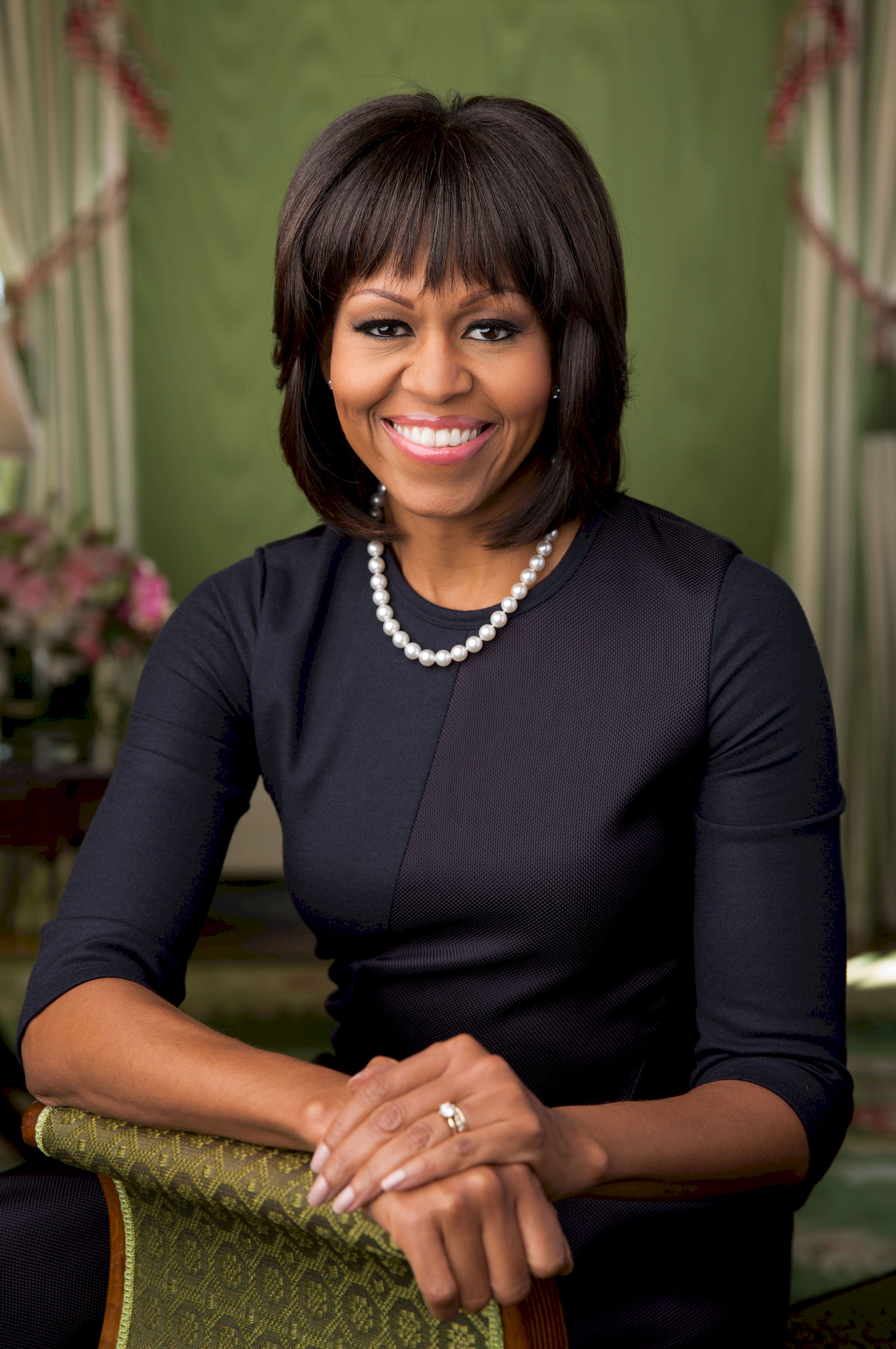 Photo of Michelle Obama: Lawyer, writer, wife of Barack Obama and First Lady of the United States