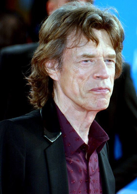 Photo of Mick Jagger: British rock musician, member of The Rolling Stones