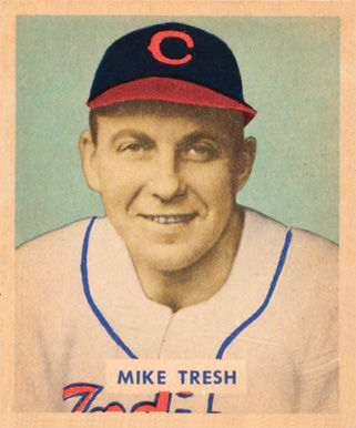 Photo of Mike Tresh: Former baseball player from the United States