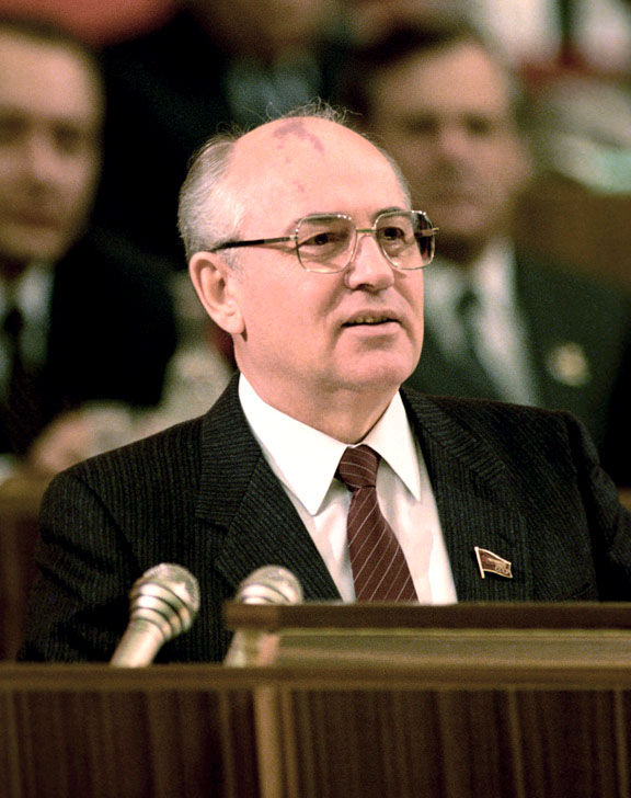 Photo of Mikhail Gorbachev: General Secretary of the Communist Party of the Soviet Union