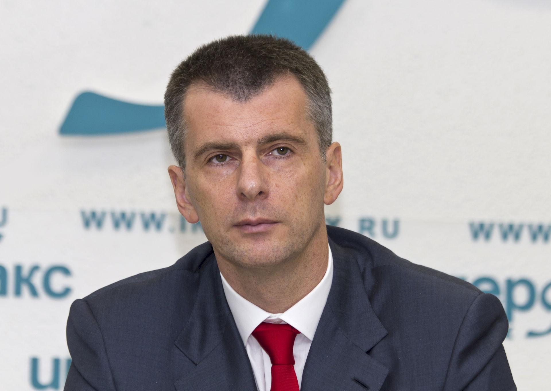Photo of Mikhail Prokhorov: Billionaire entrepreneur, politician, sportsteam owner