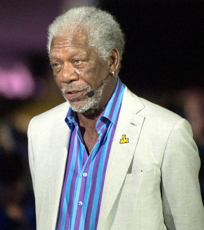 Photo of Morgan Freeman: American actor, film director, and narrator