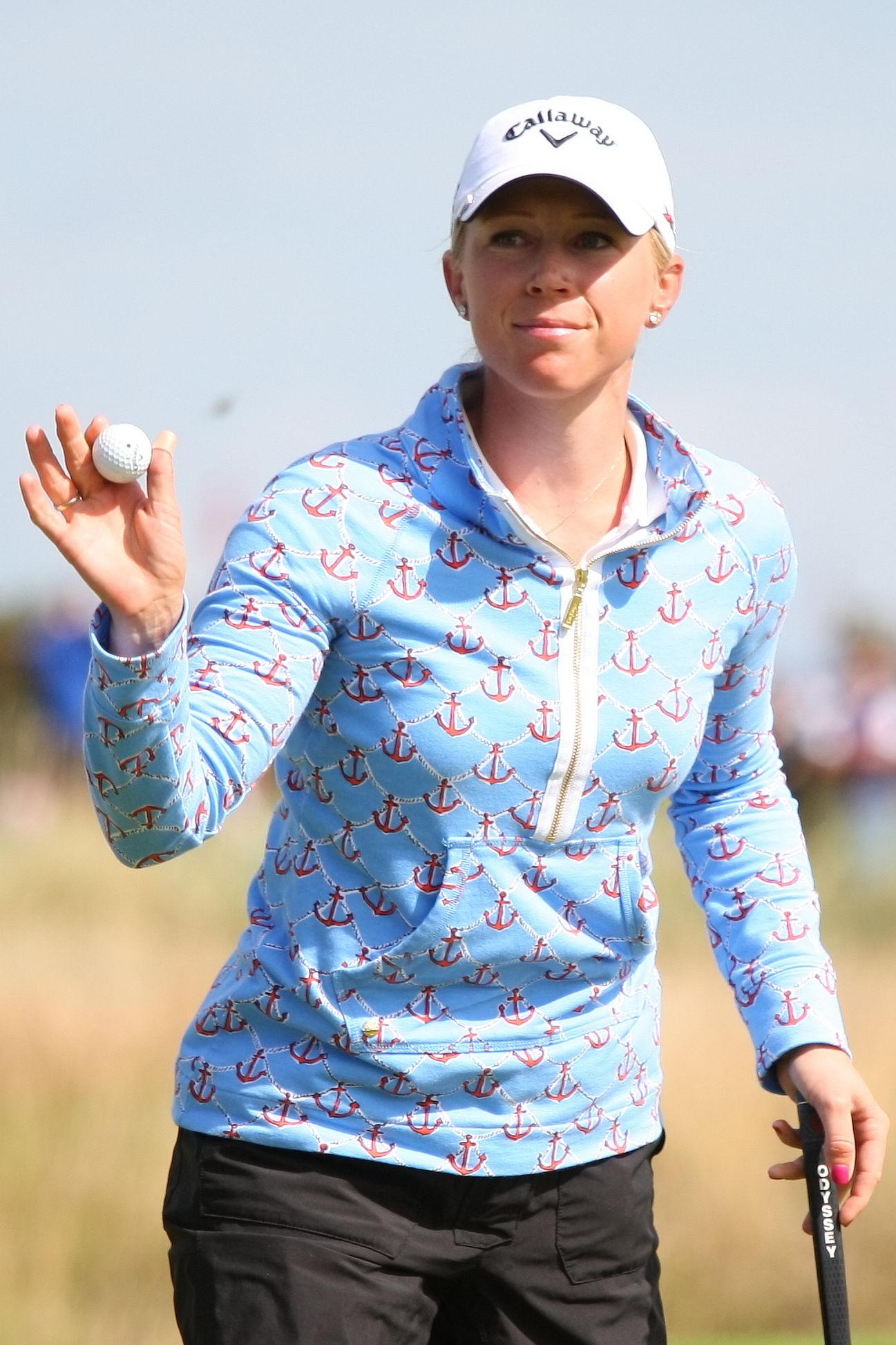Photo of Morgan Pressel: US golfer