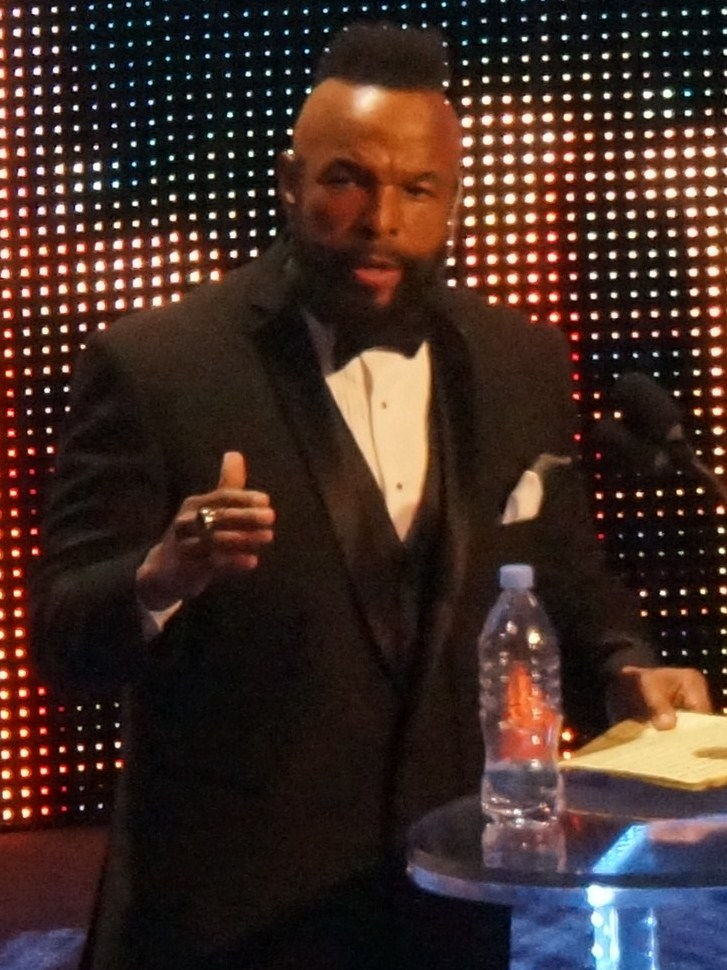Photo of Mr. T: American actor and retired professional wrestler