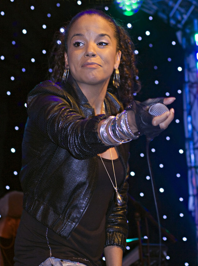 Photo of Ms. Dynamite: English singer and rapper
