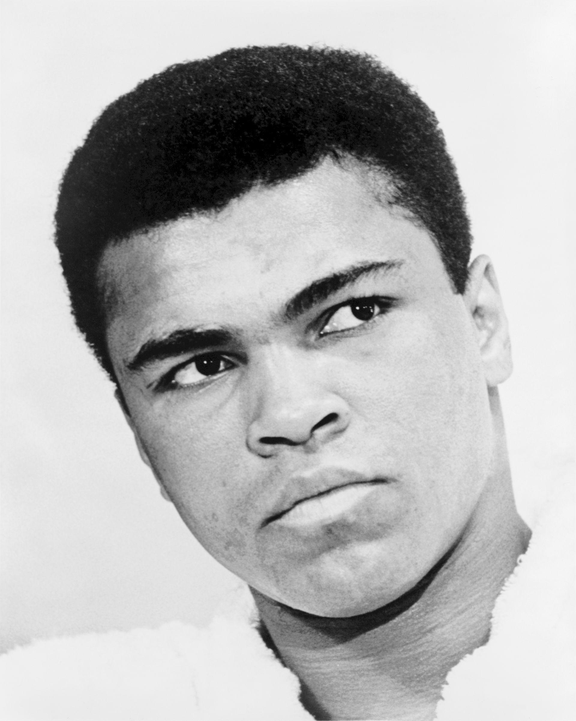 Photo of Muhammad Ali: African American boxer, philanthropist and activist