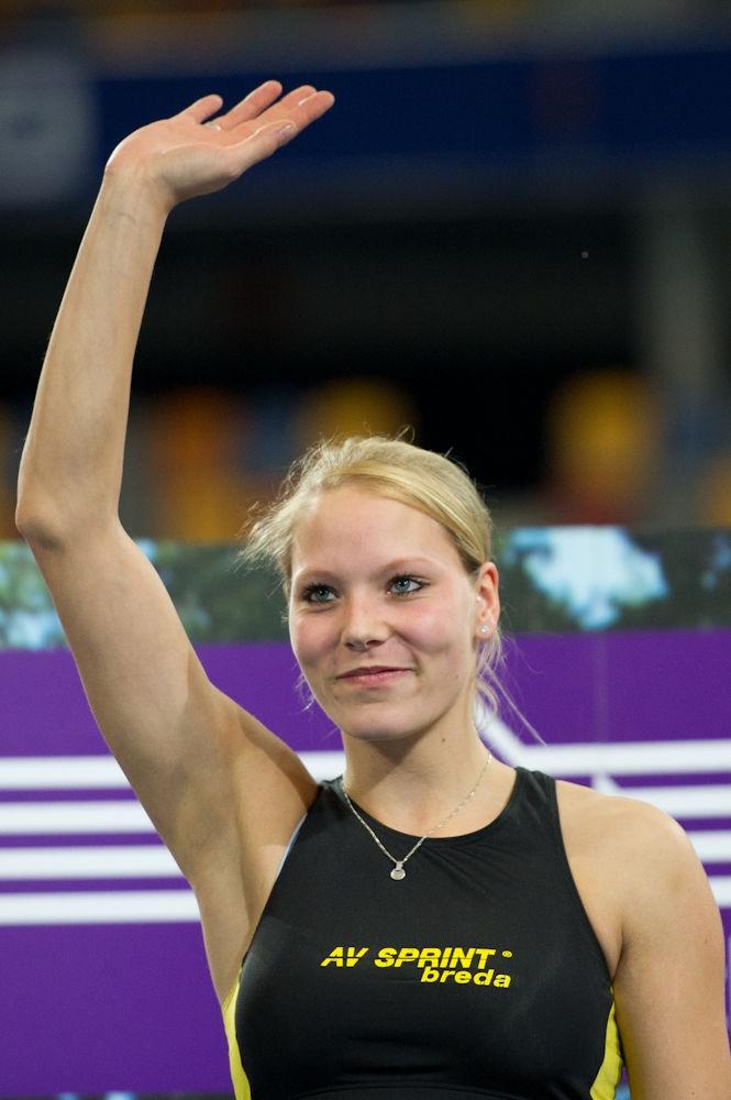 Photo of Nadine Broersen: Dutch track and field athlete
