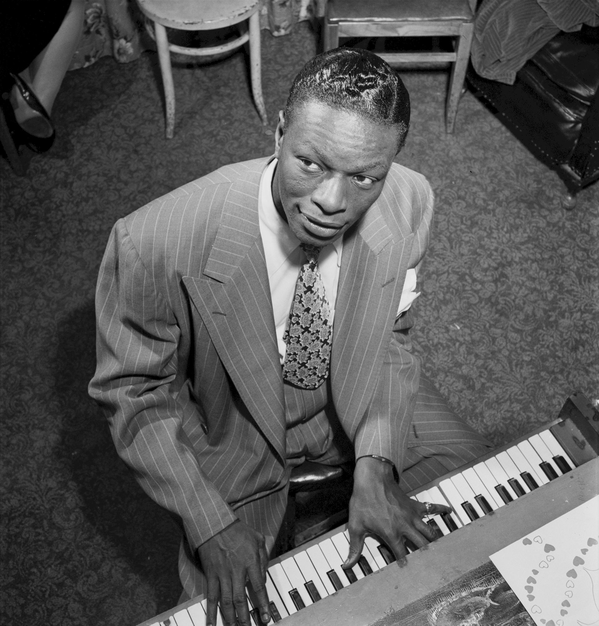 Photo of Nat King Cole: American singer and jazz pianist