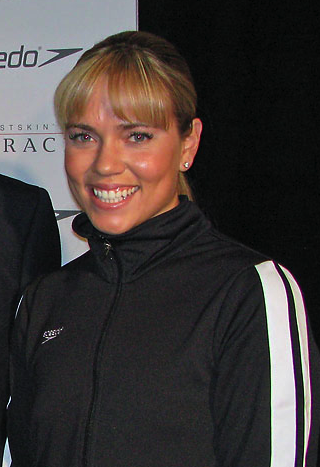 Photo of Natalie Coughlin: American swimmer, Olympic gold medalist, world champion, world record-holder
