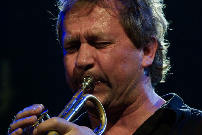 Photo of Nils Petter Molvær: Norwegian jazz trumpeter, composer and music producer