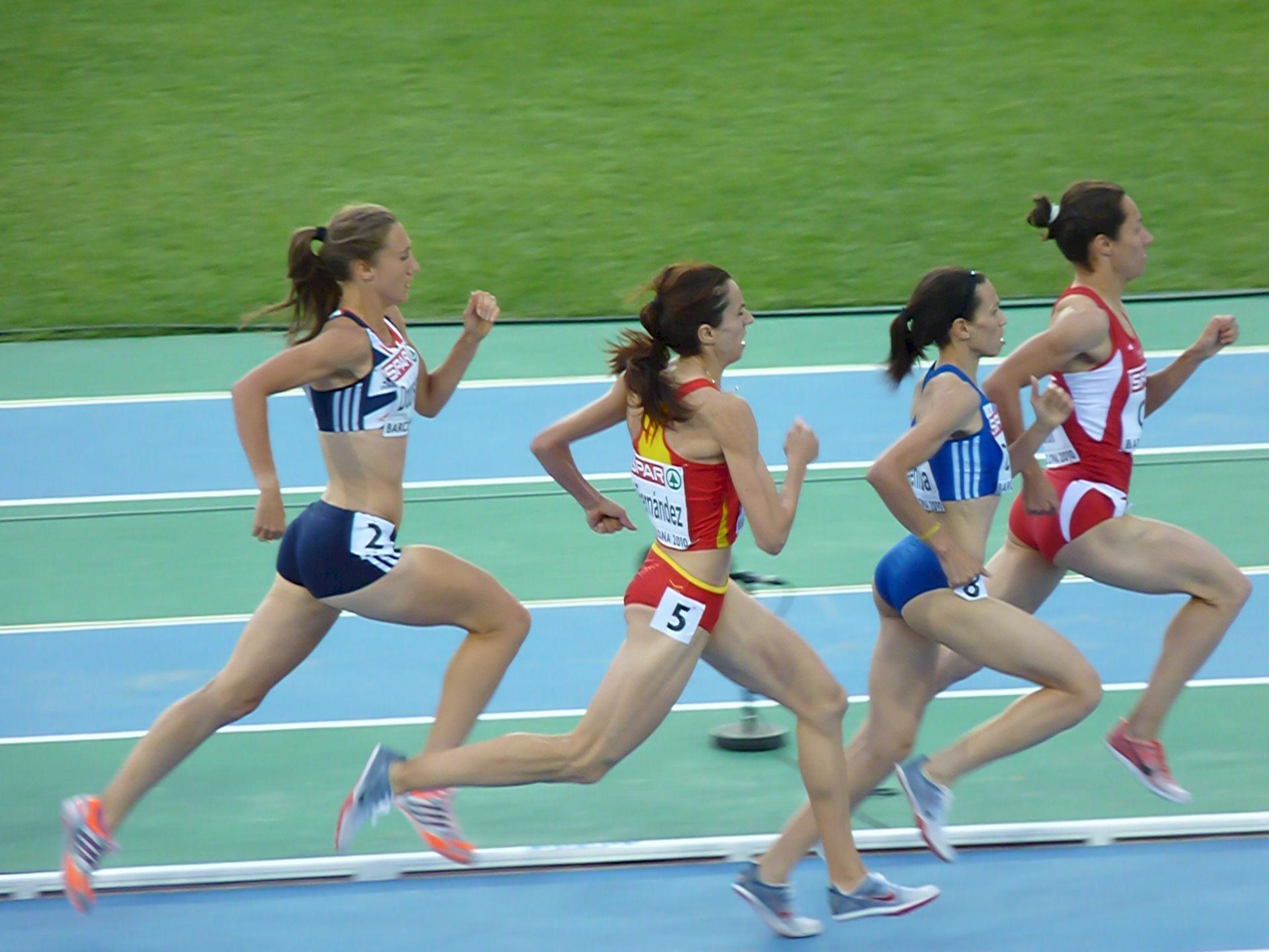 Photo of Nuria Fernández: Athletics competitor