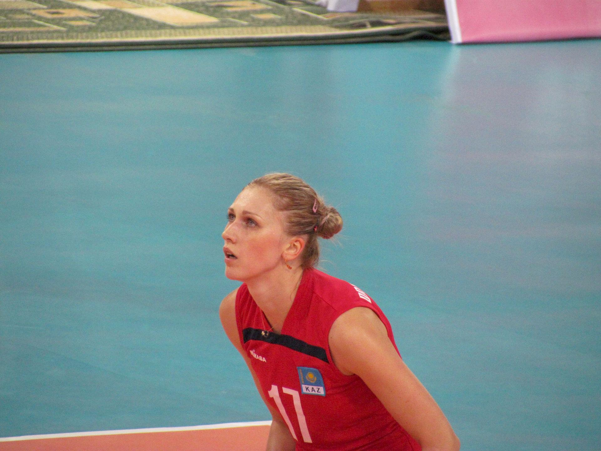 Photo of Olga Kubassevich: Kazakhstani volleyball player
