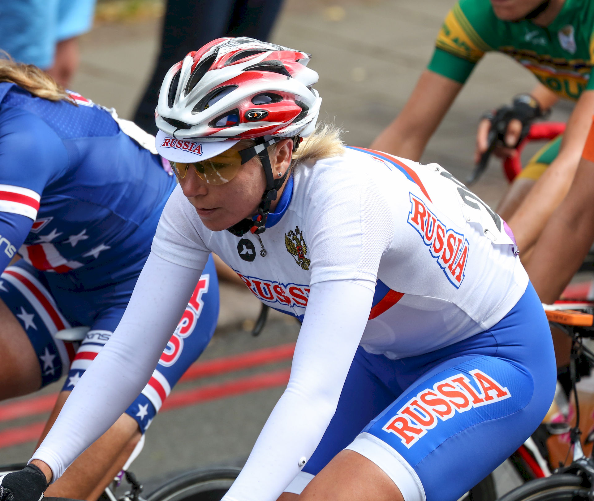 Photo of Olga Zabelinskaya: Russian road cyclist, Olympic medal winner