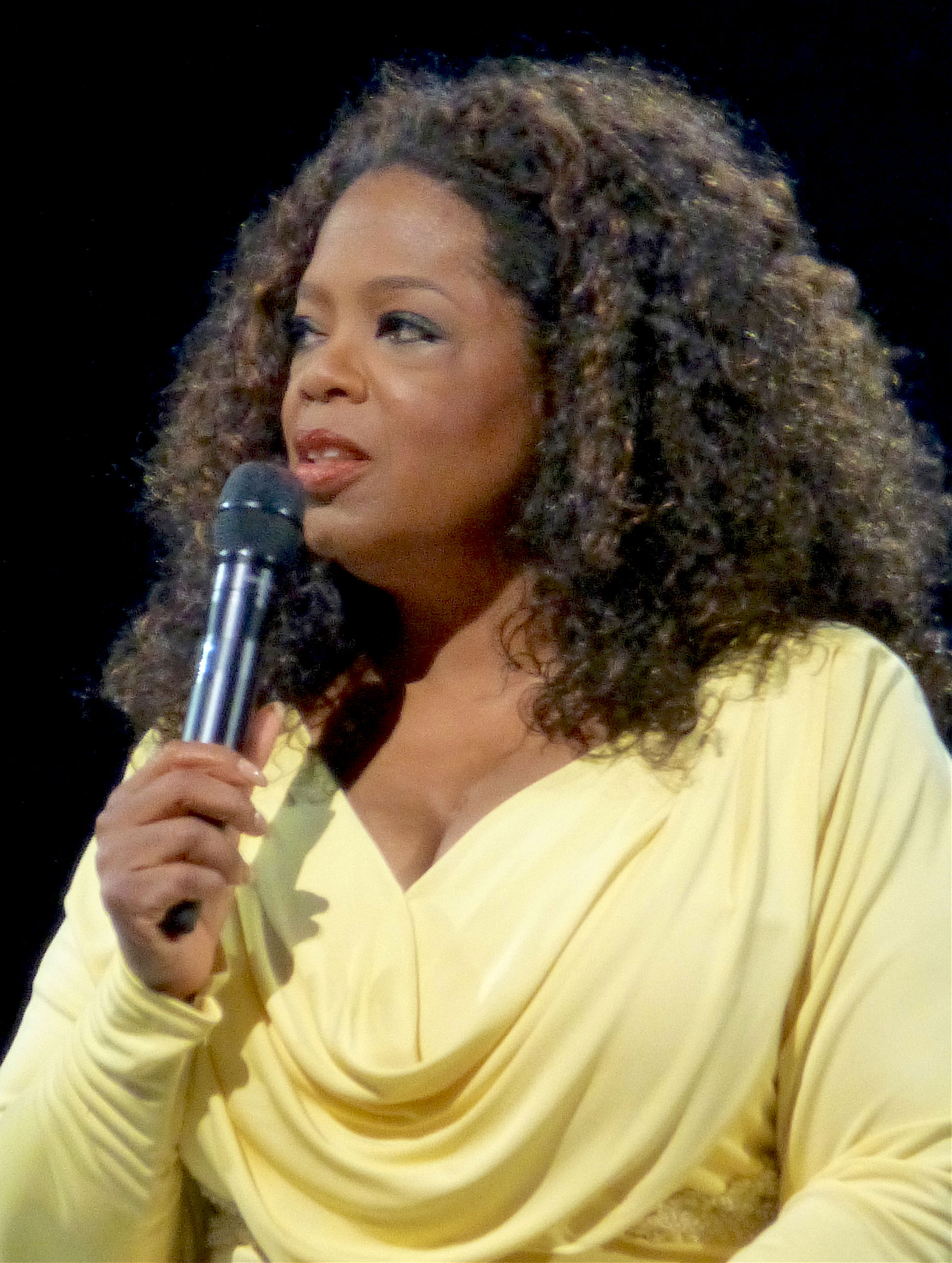 Photo of Oprah Winfrey: American businesswoman, talk show host, actress, producer, and philanthropist
