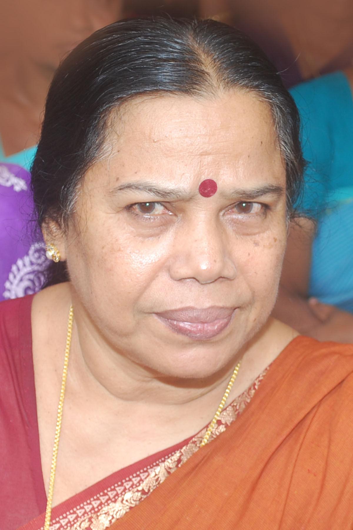 Photo of P. K. Sreemathy: Indian politician