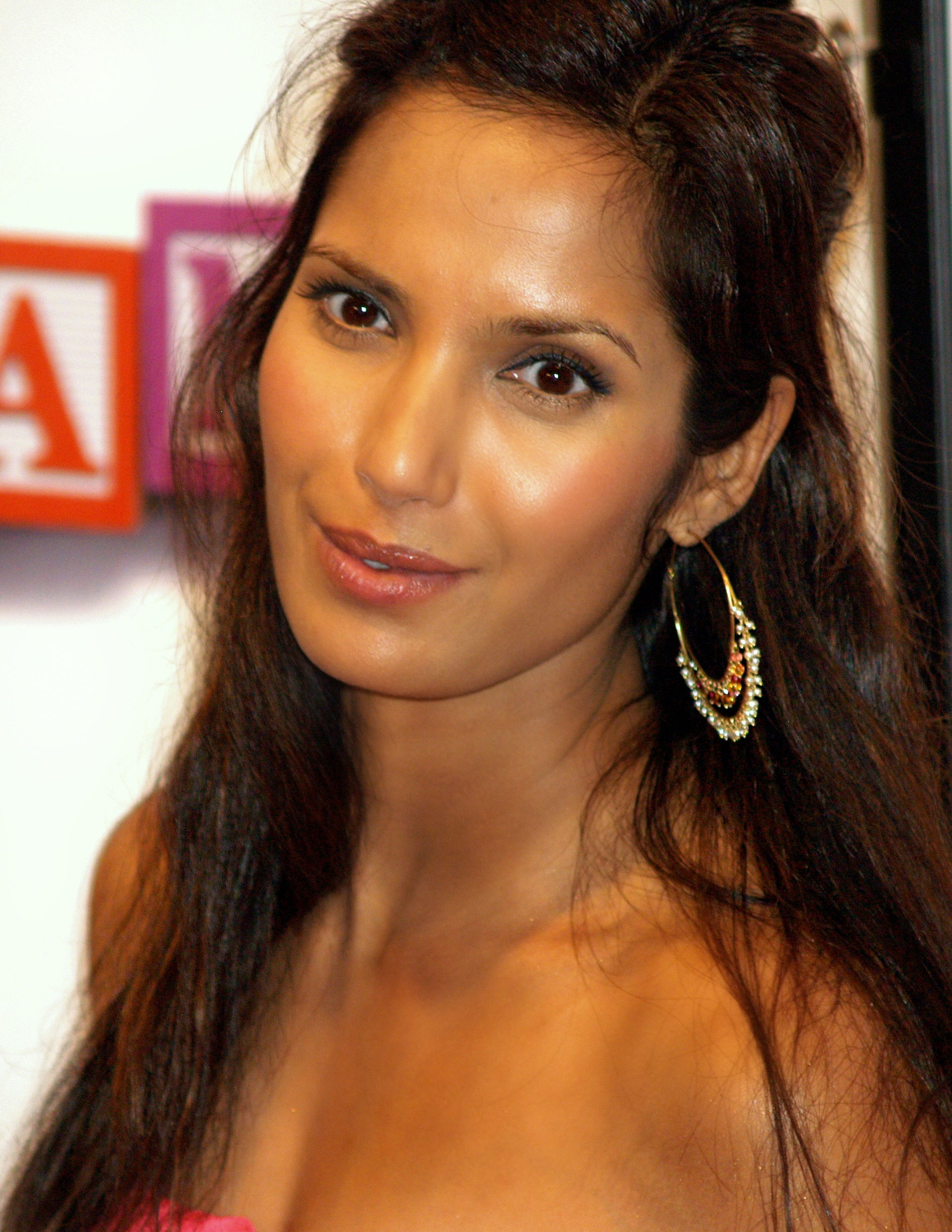 Photo of Padma Lakshmi: An Indian-born American author, actress, model, television host and executive producer