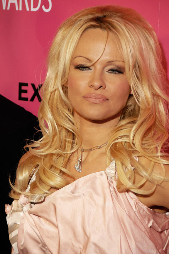 Photo of Pamela Anderson: Canadian-American model, producer, author, former showgirl