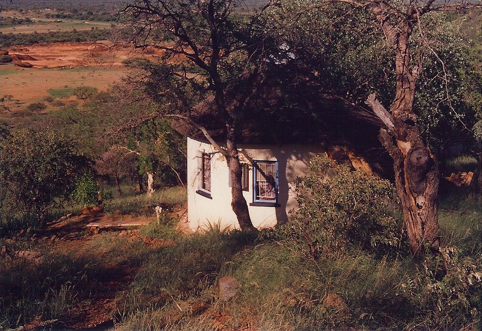 Photo of Patrick van Rensburg: Botswana writer