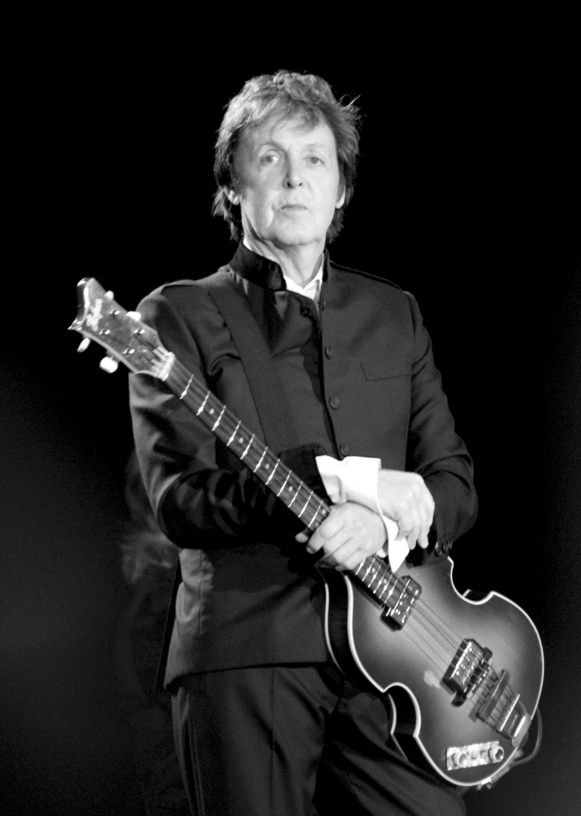 Photo of Paul McCartney: British musician, former member of the Beatles
