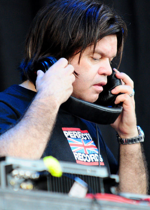 Photo of Paul Oakenfold: British record producer and a trance music DJ