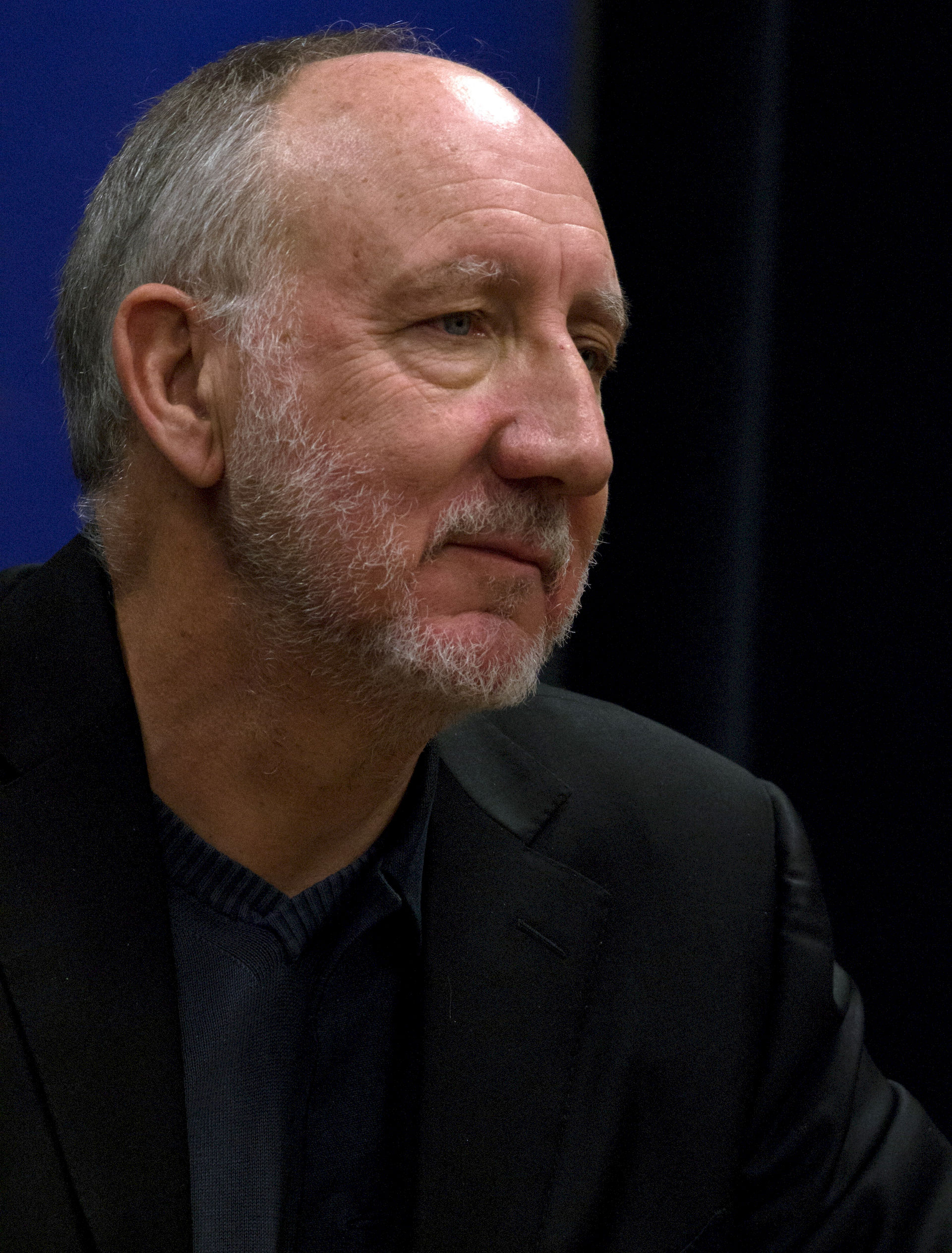 Photo of Pete Townshend: English rock guitarist, vocalist, songwriter and author