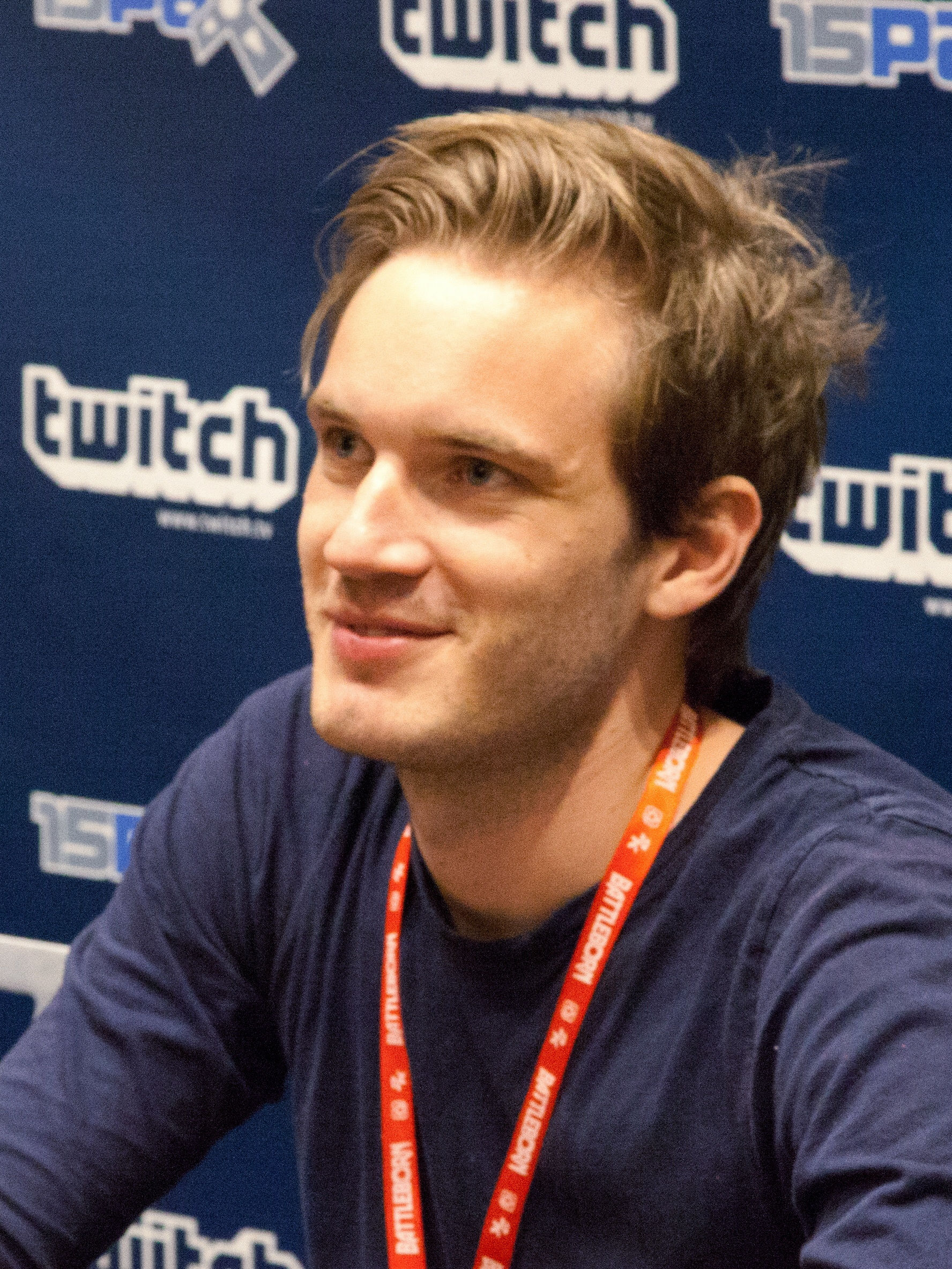 Photo of PewDiePie: Swedish YouTuber and video game commentator
