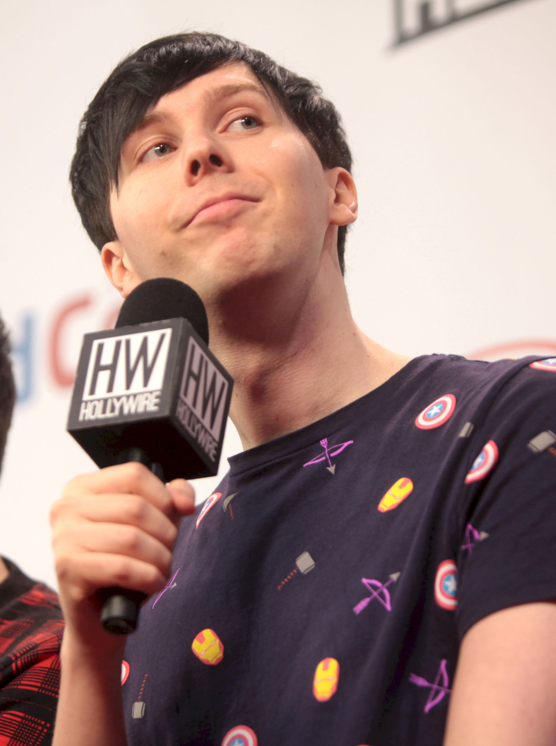 Photo of Phil Lester: English YouTube vlogger and radio personality