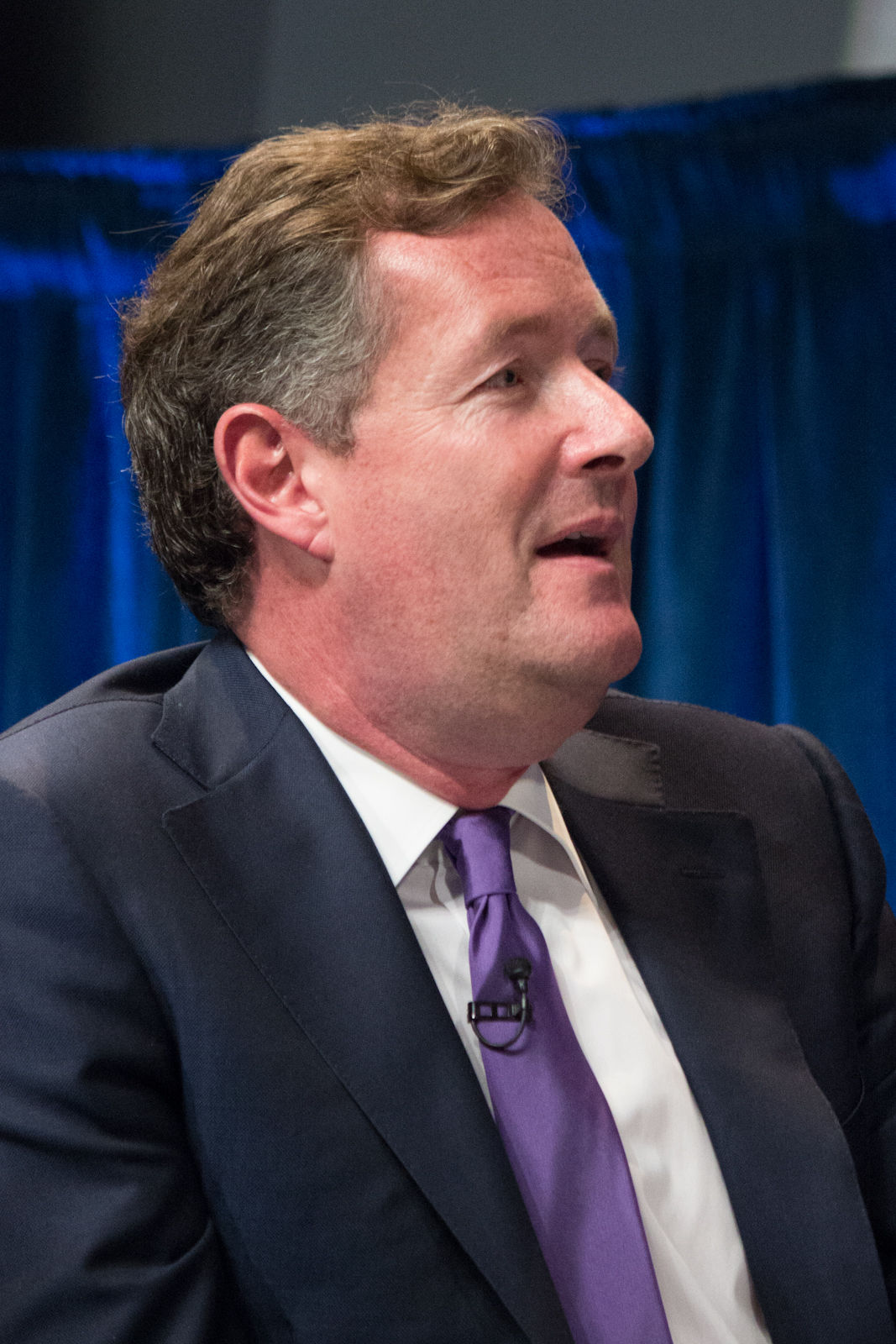 Photo of Piers Morgan: Journalist and television host from England