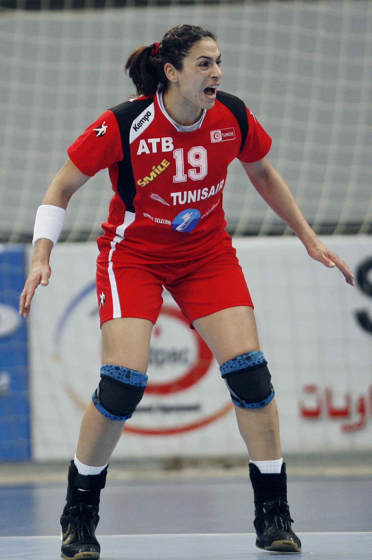 Photo of Rafika Marzouk: Handball player