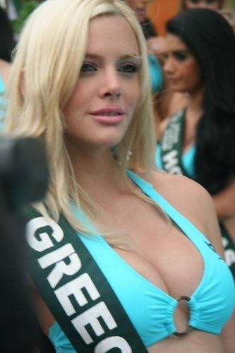 Photo of Ria Antoniou: Greek beauty pageant titleholder/2nd runner-up:Star Hellas 2008