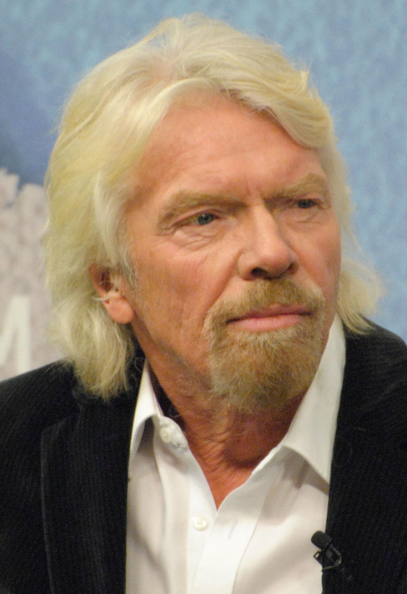Photo of Richard Branson: British business magnate