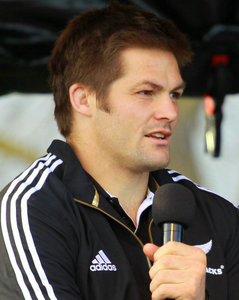 Photo of Richie McCaw: New Zealand Rugby union footballer