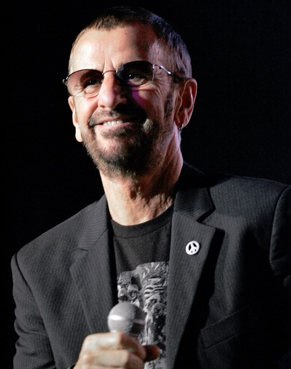 Photo of Ringo Starr: British musician, former member of the Beatles