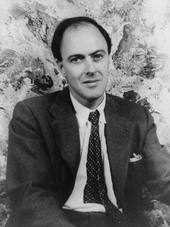 Photo of Roald Dahl: British novelist, short story writer, poet, fighter pilot and screenwriter