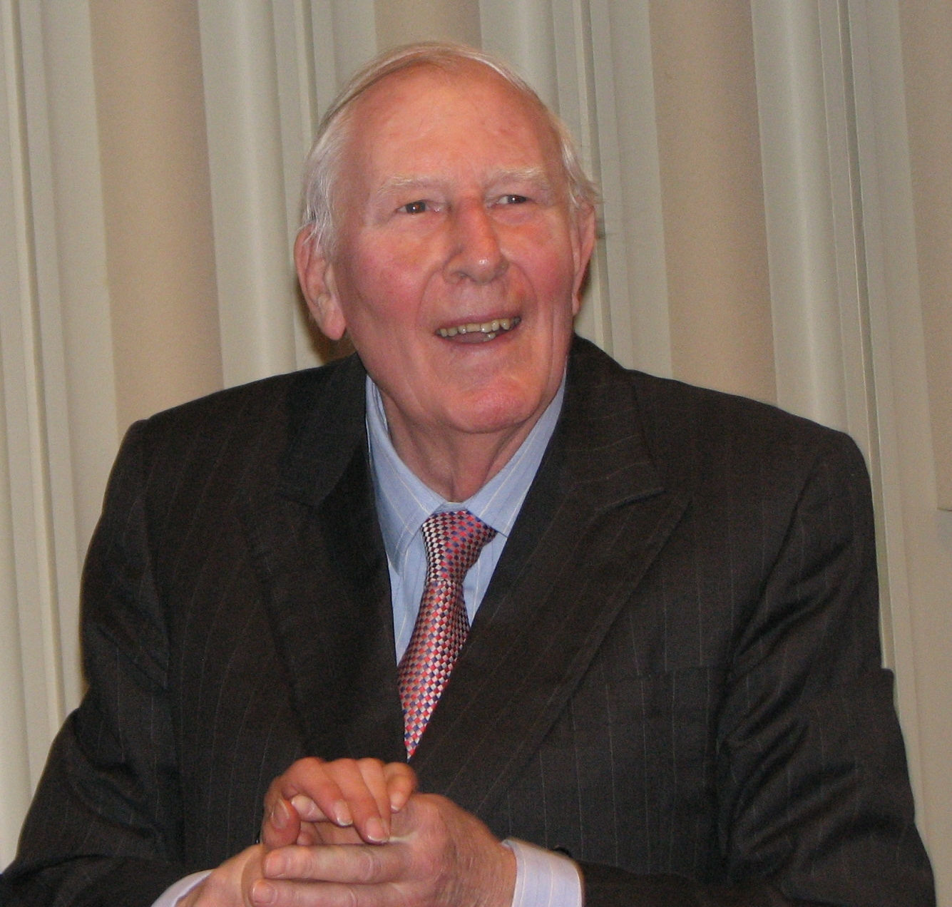 Photo of Roger Bannister: English middle distance athlete