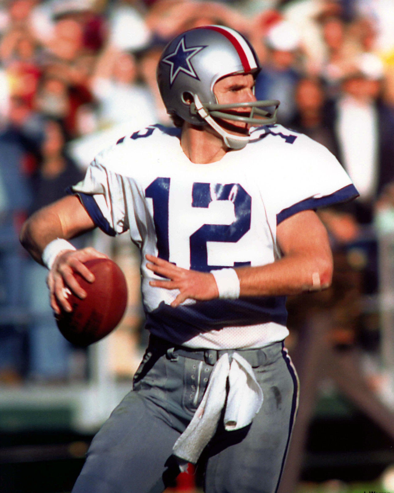 Photo of Roger Staubach: American football Hall of Fame quarterback, businessman