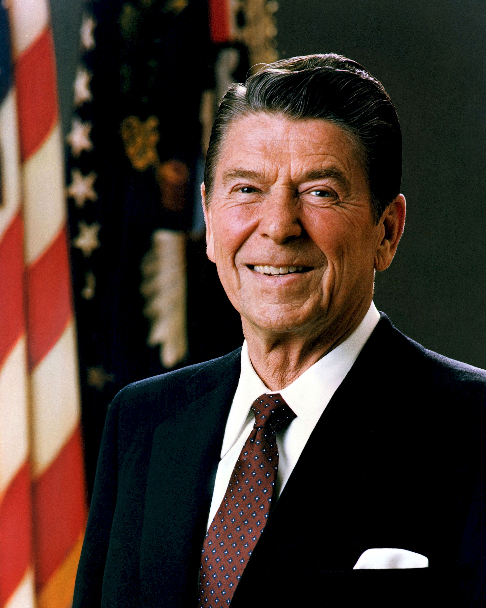 Photo of Ronald Reagan: American politician, 40th president of the United States (in office from 1981 to 1989)