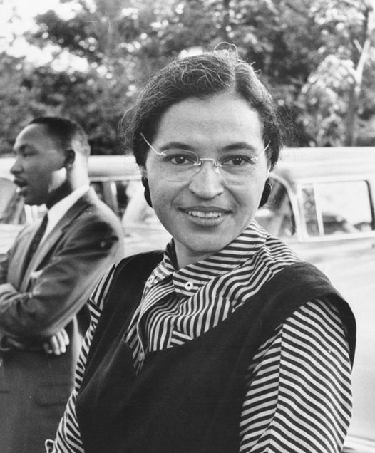Photo of Rosa Parks: African-American civil rights activist