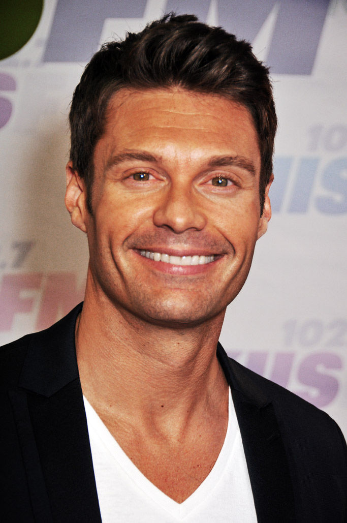 Photo of Ryan Seacrest: Television and radio host; television producer