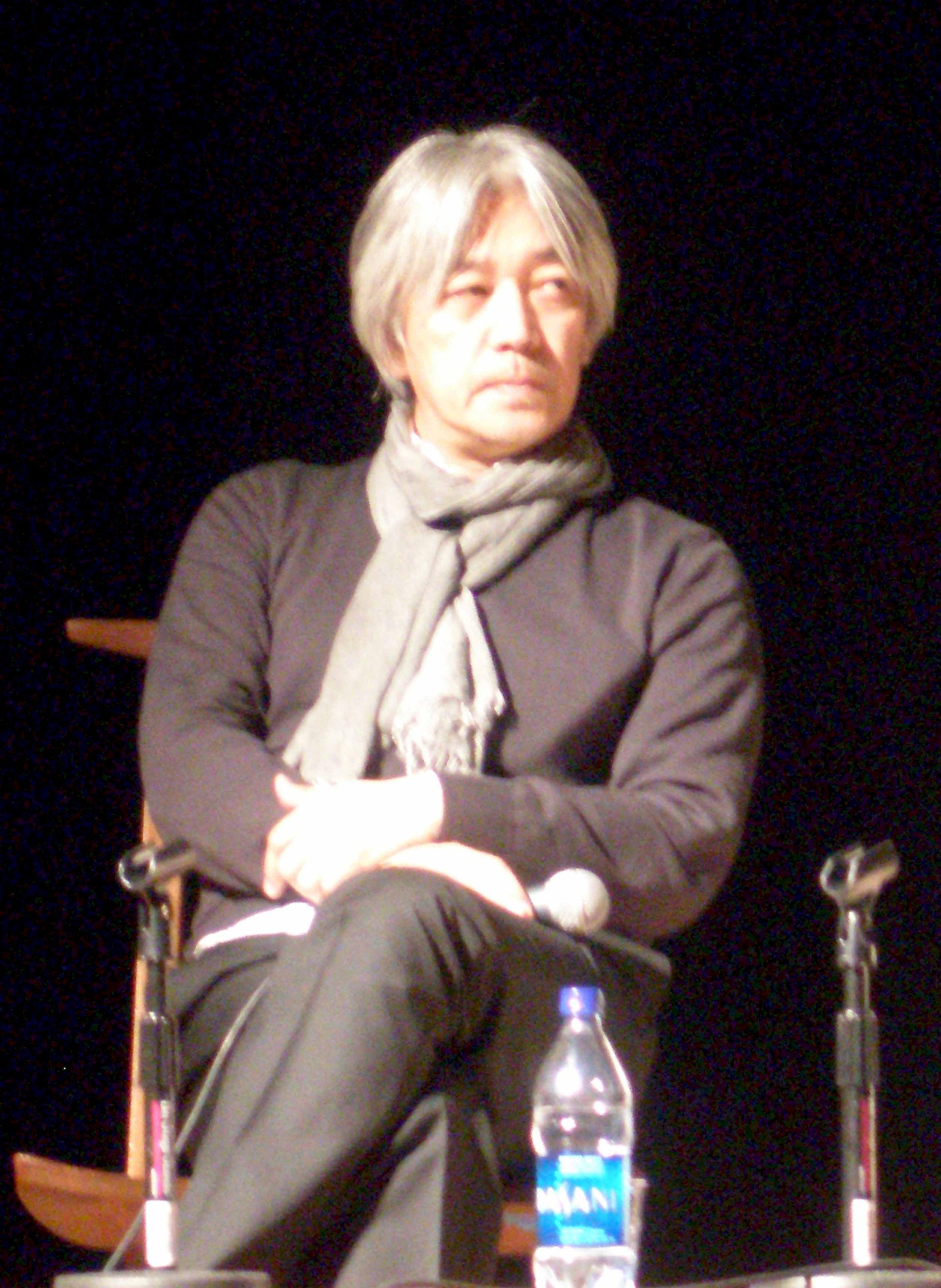 Photo of Ryuichi Sakamoto: Japanese musician