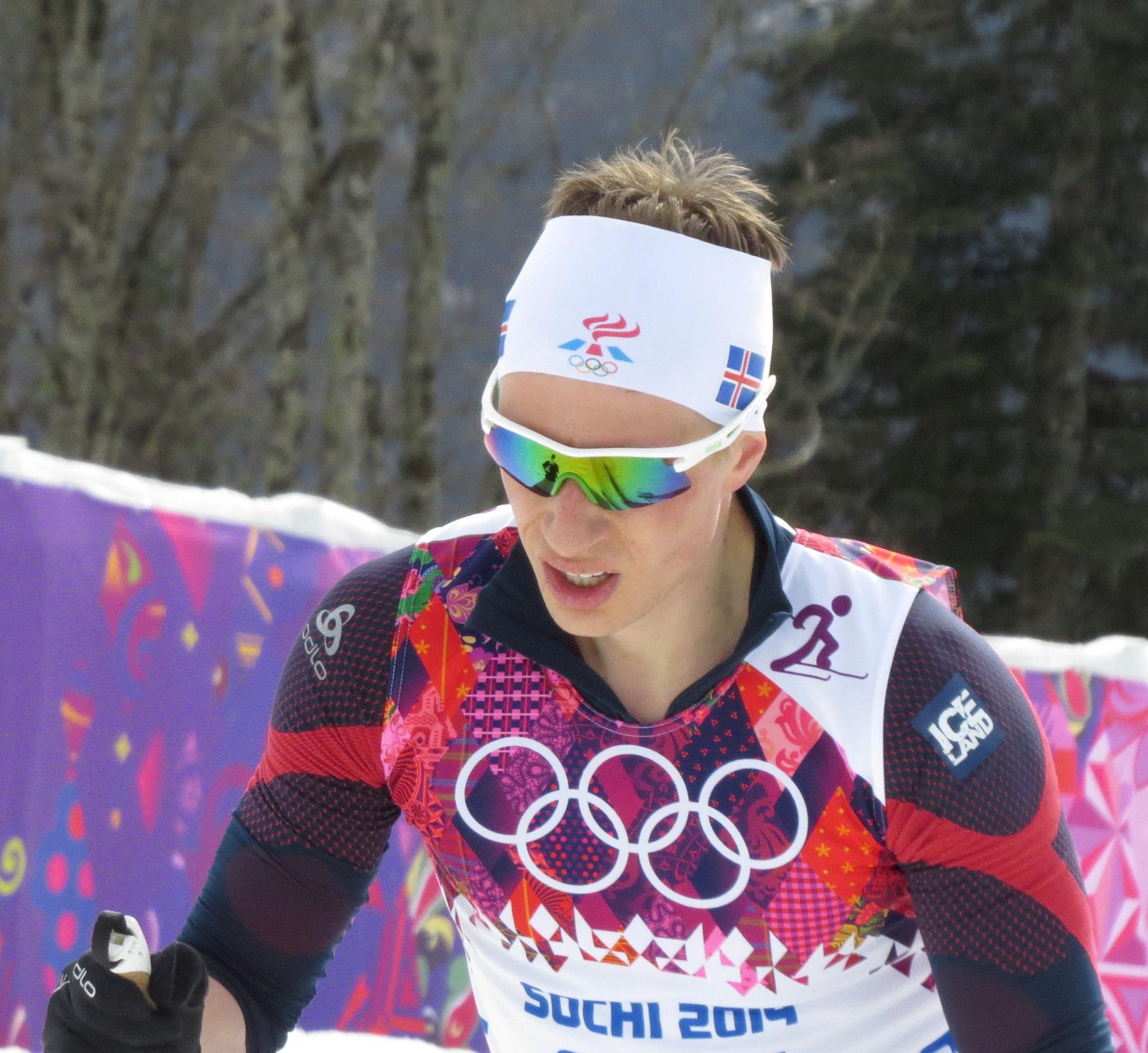Photo of Sævar Birgisson: Icelandic cross-country skier