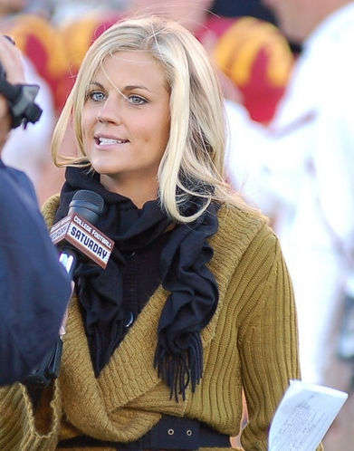 Photo of Samantha Ponder: American sports announcer