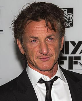 Photo of Sean Penn: American actor, screenwriter, and film director
