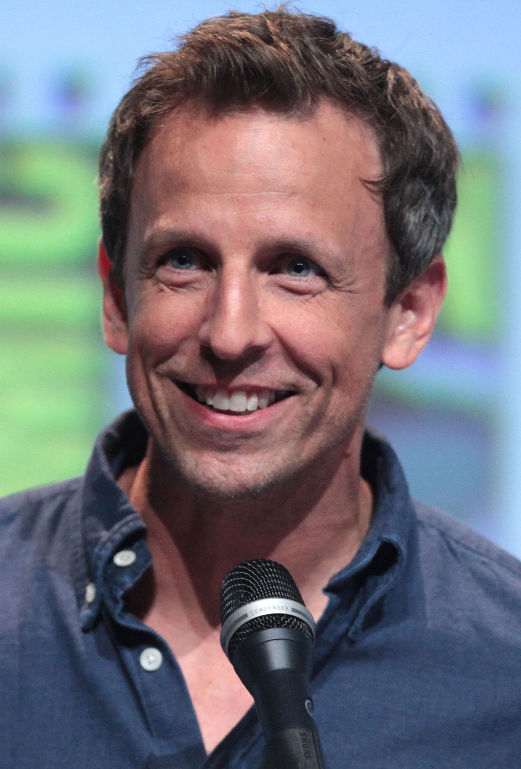 Photo of Seth Meyers: American comedian and actor