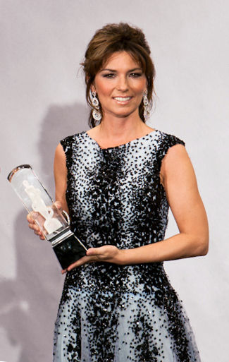 Photo of Shania Twain: Canadian country pop singer-songwriter